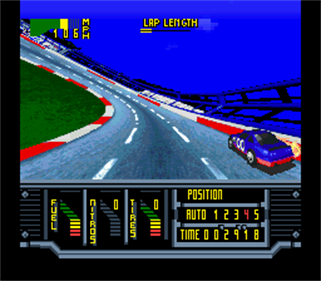 Kyle Petty's No Fear Racing - Screenshot - Gameplay