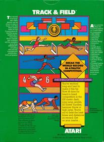 Track & Field - Box - Back
