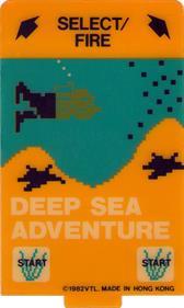 Deep Sea Adventure - Arcade - Controls Information