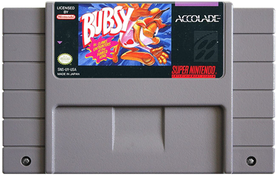 Bubsy in: Claws Encounters of the Furred Kind - Fanart - Cart - Front