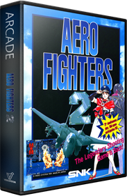 Aero Fighters 2 - Box - 3D
