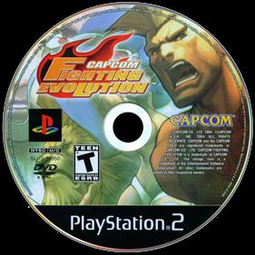 Capcom Fighting Evolution - Disc