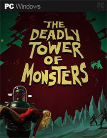 The Deadly Tower of Monsters - Fanart - Box - Front
