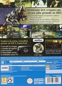 The Legend of Zelda: Twilight Princess HD - Box - Back