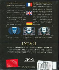Extase - Box - Back