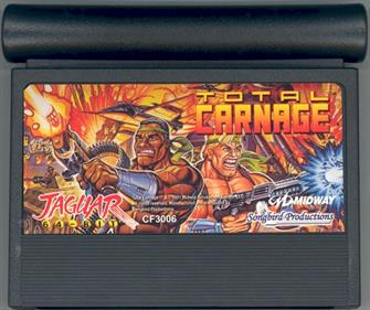 Total Carnage - Cart - Front