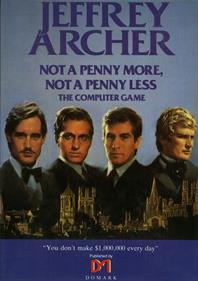 Jeffrey Archer: Not a Penny More, Not a Penny Less: The Computer Game