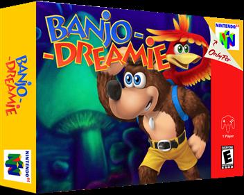Banjo-Dreamie - Box - 3D