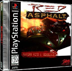 Red Asphalt - Box - 3D