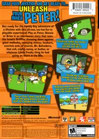 Family Guy Video Game! - Box - Back