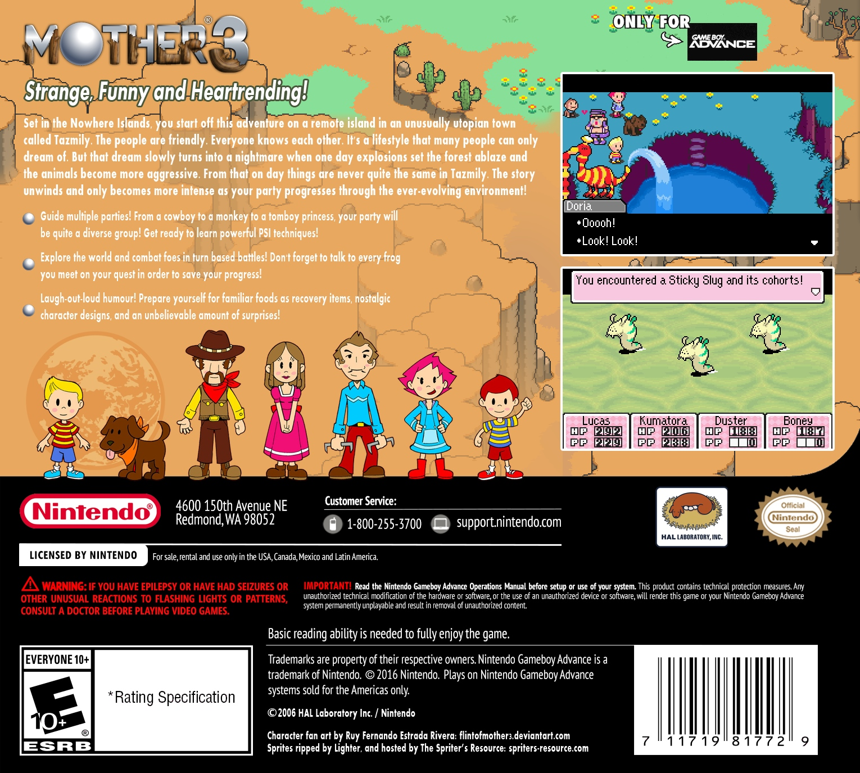 Mother 3 Details - LaunchBox Games Database