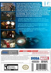 Iron Man 2 - Box - Back