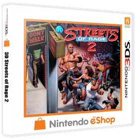 3D Streets of Rage 2 - Box - 3D