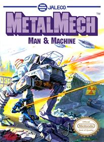Metal Mech: Man & Machine - Box - Front
