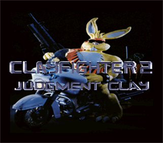 C2 Judgment Clay: Clay Fighter 2 - Screenshot - Game Title