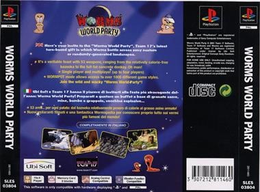 Worms World Party - Box - Back