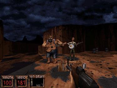 Redneck Rampage - Screenshot - Gameplay