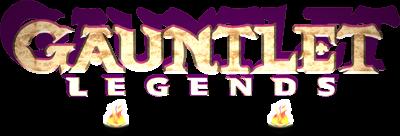 Gauntlet Legends - Clear Logo
