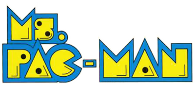 Ms. Pac-Man - Clear Logo