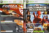 Marvel Ultimate Alliance / Forza 2 Combo Pack
