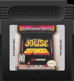 Arcade Hits: Joust & Defender - Fanart - Cart - Front