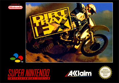 Dirt Trax FX - Box - Front