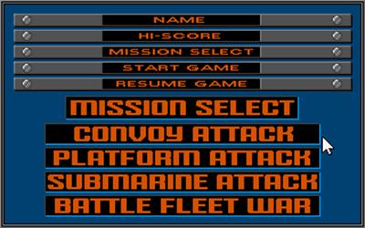 Battle Stations - Screenshot - Game Select