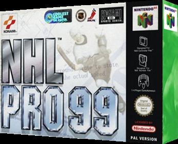 NHL Blades of Steel '99 - Box - 3D