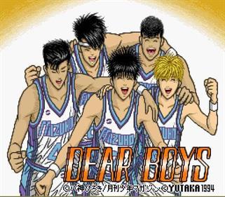 Dear Boys - Screenshot - Game Title