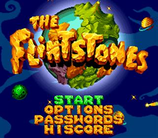 The Flintstones - Screenshot - Game Title