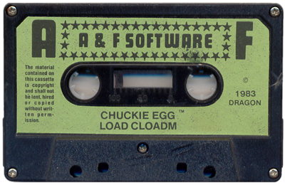 Chuckie Egg - Cart - Front