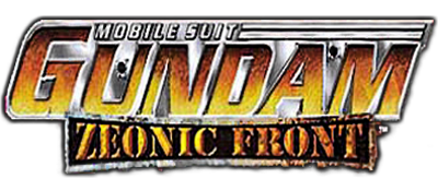 Mobile Suit Gundam: Zeonic Front - Clear Logo