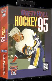 Brett Hull Hockey 95 - Box - 3D
