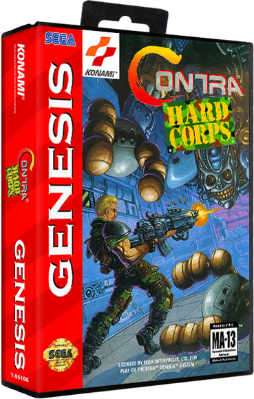 Contra: Hard Corps Details - LaunchBox Games Database