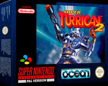 Super Turrican 2 - Box - 3D