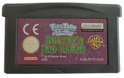 Tiny Toon Adventures: Scary Dreams - Cart - Front