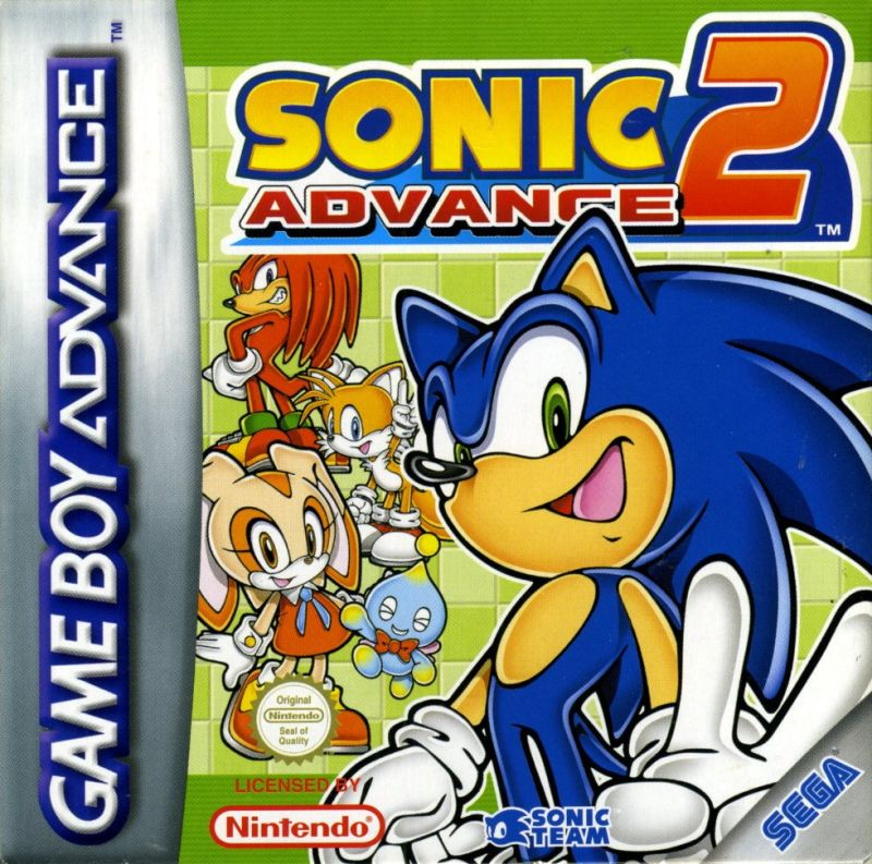 2 Games in 1: Sonic Advance + Sonic Battle for Game Boy ...