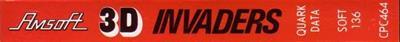 3D Invaders - Banner