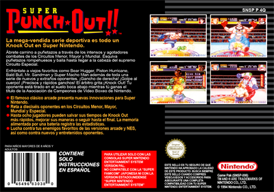 Super Punch-Out!! - Box - Back - Reconstructed