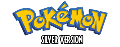 Pokémon Silver Version - Clear Logo