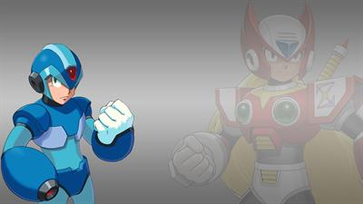Mega Man X Collection - Fanart - Background