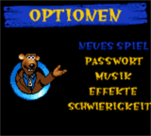 Chicken Run - Screenshot - Game Select