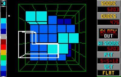Block Out - Screenshot - Gameplay