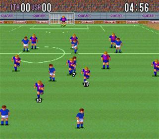 Super Soccer - Screenshot - Gameplay