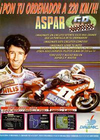 Aspar GP Master - Advertisement Flyer - Front