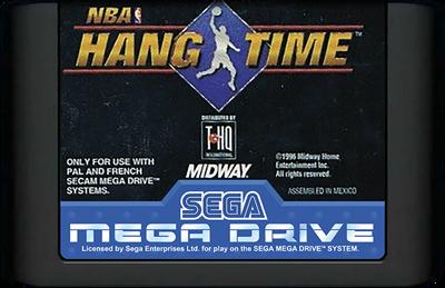 NBA Hang Time - Cart - Front