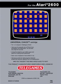 Universal Chaos - Box - Back