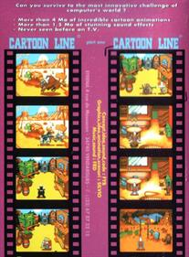 Cartoon Line: Part One - Box - Back