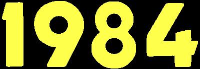 1984 - Clear Logo