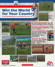 World Cup 98 - Box - Back